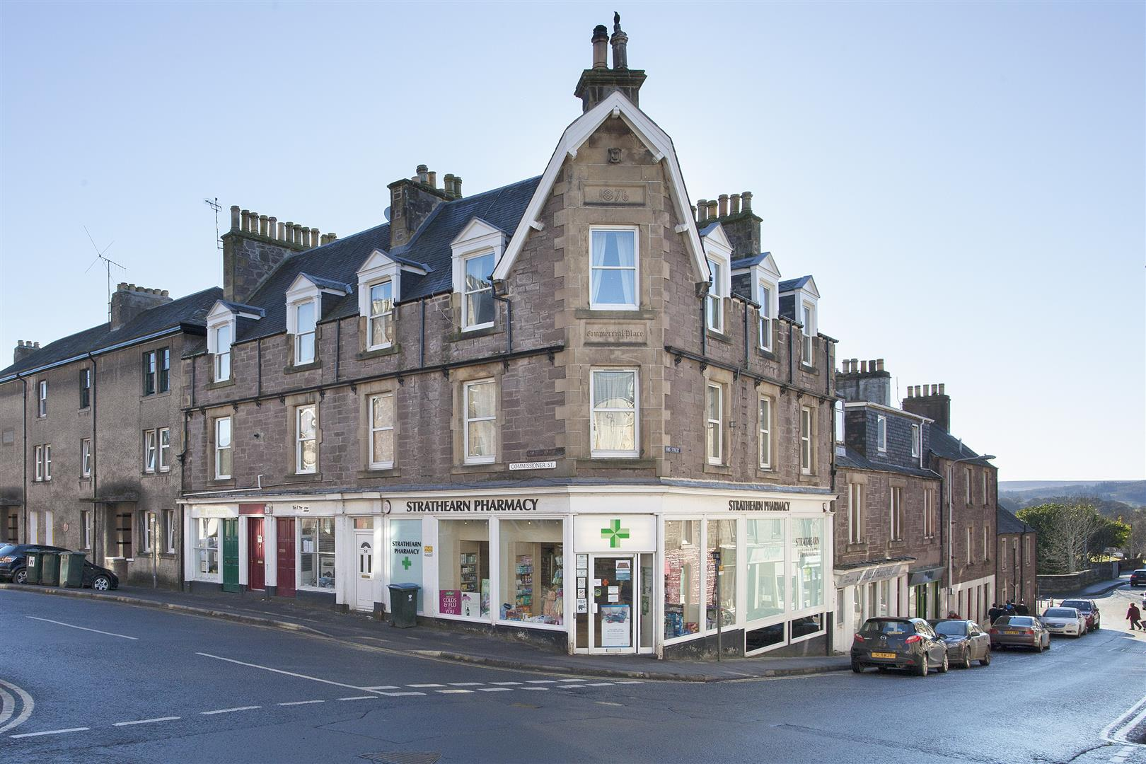 64, Commissioner Street, Crieff, Perthshire, PH7 3AY, UK